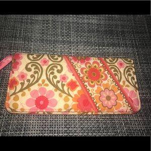 Vera Bradley Travel Wallet in Folkloric